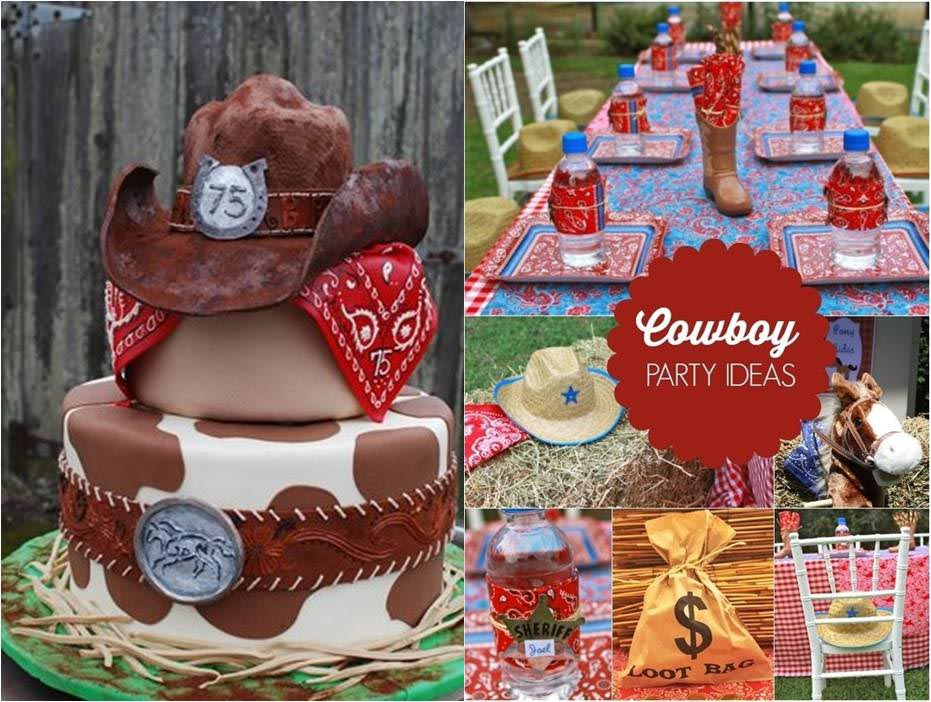 Cowboy Decorations for Birthday Party
