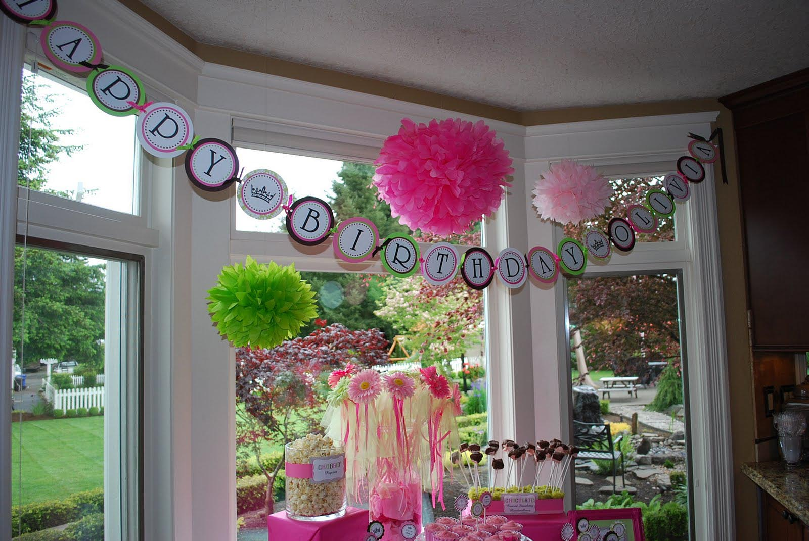 Creative First Birthday Party Themes Home Party Ideas