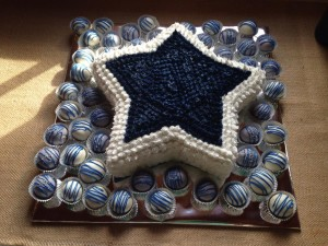 Dallas Cowboy Birthday Party Decorations