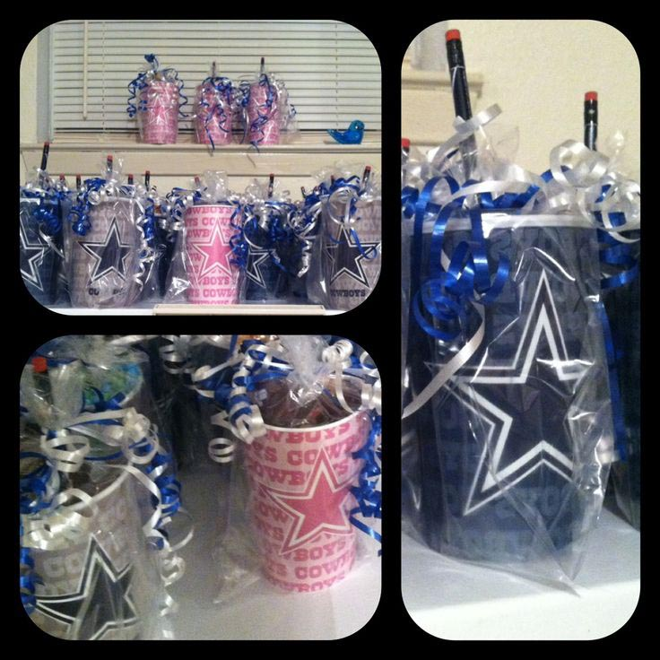 Dallas Cowboy Themed Birthday Party