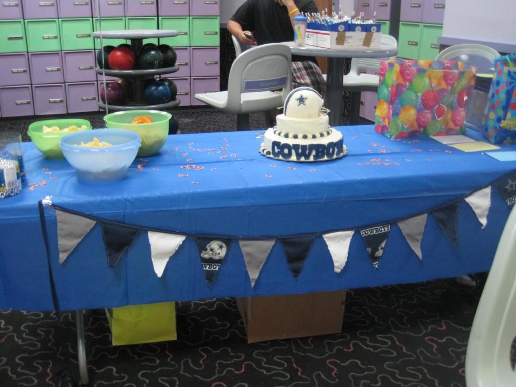 Dallas Cowboys Birthday Party