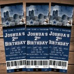 Dallas Cowboys Birthday Party Invitations