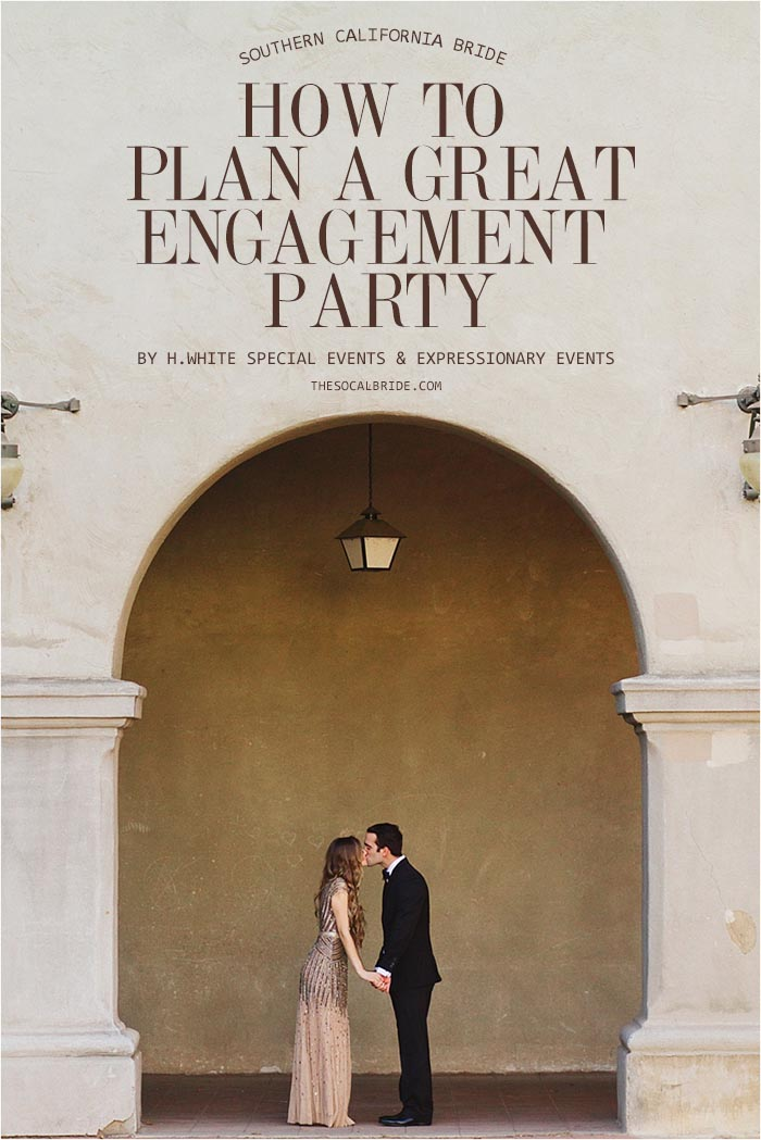 Engagement Party Planning Checklist