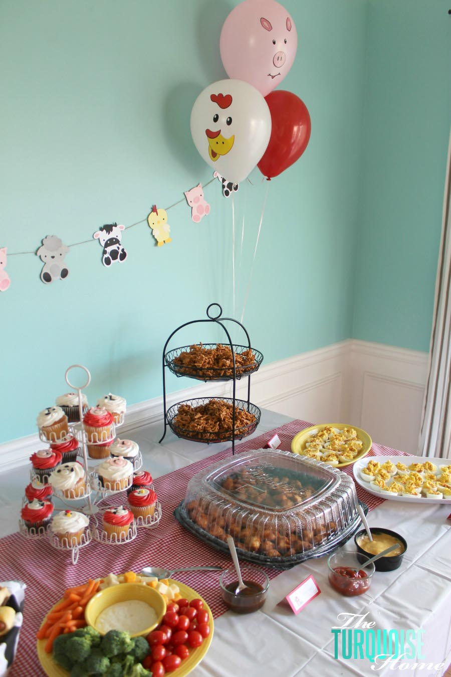 Farm Animal Themed Birthday Party