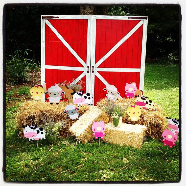 Farm Animals Birthday Party Ideas
