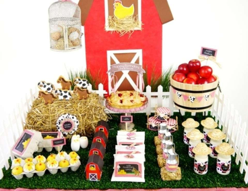 Farm Animals for Birthday Parties