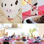 Farm for Birthday Party