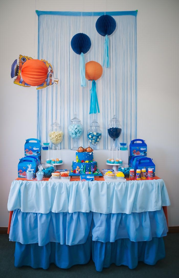 Finding Nemo 1st Birthday Party