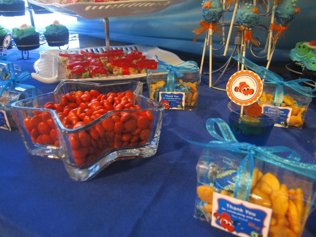Finding Nemo Birthday Party Decorations