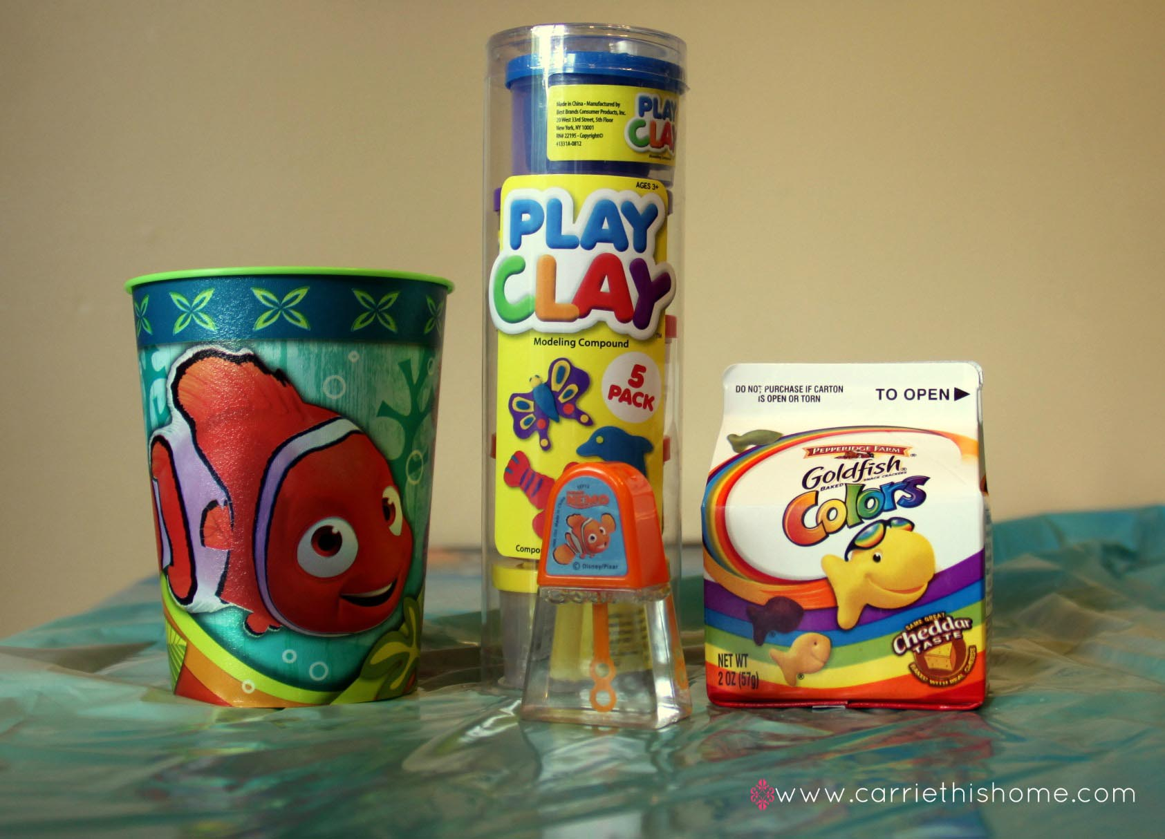 Finding Nemo Birthday Party Favors