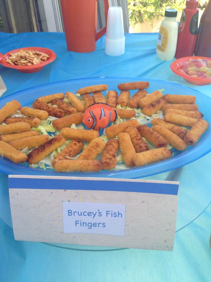Finding Nemo Birthday Party Ideas Food