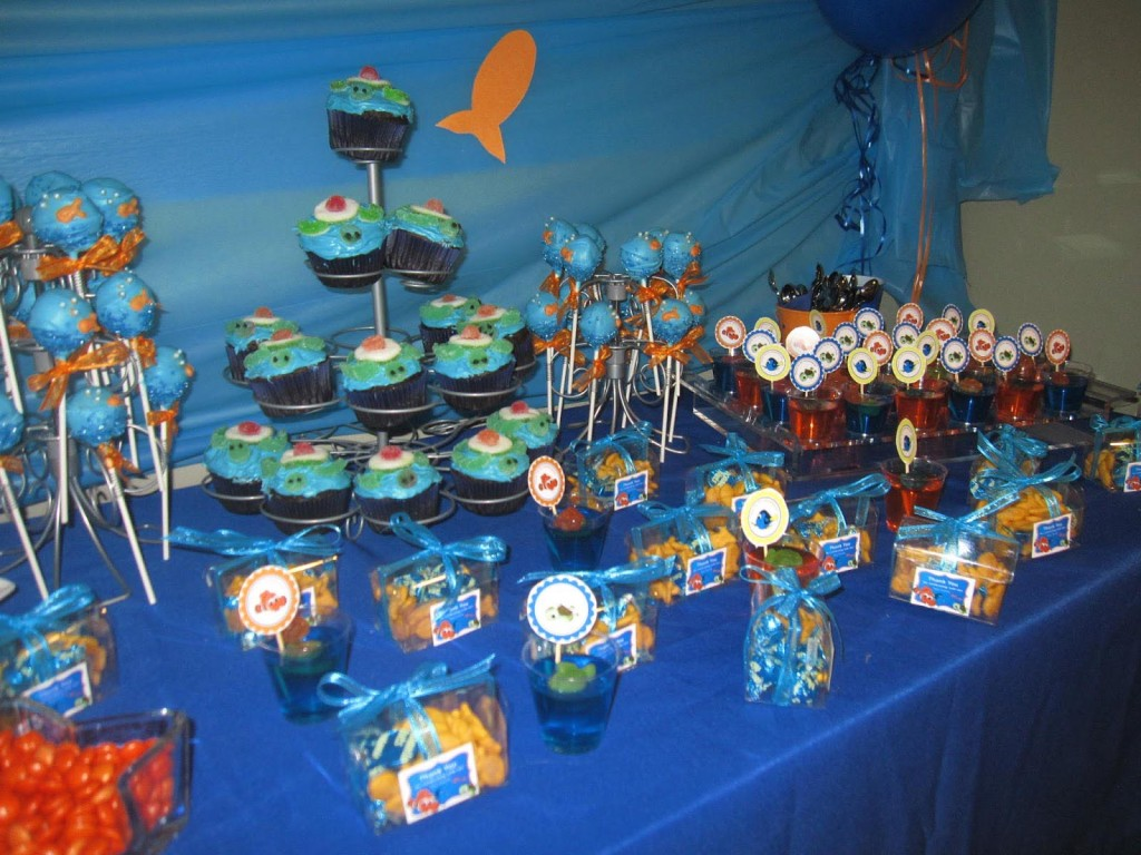 Finding Nemo First Birthday Party Ideas