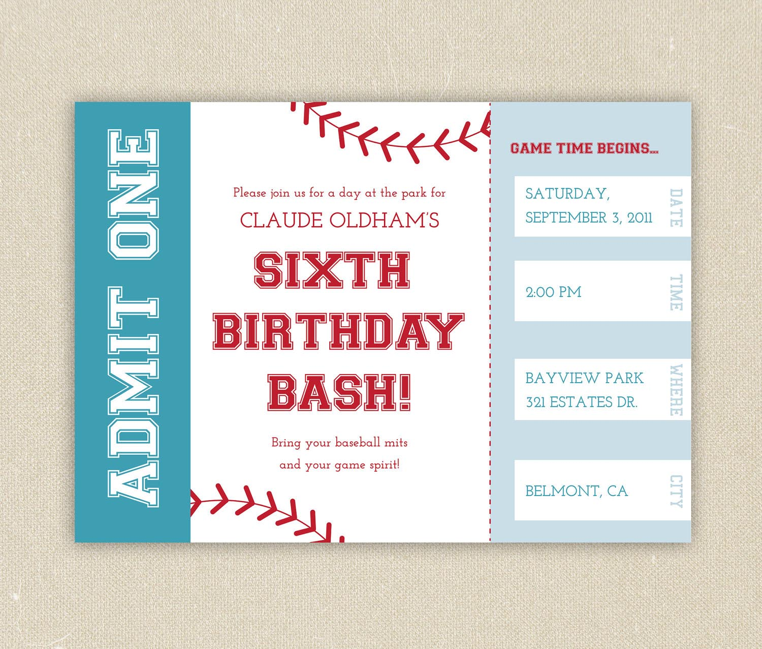 picture regarding Free Printable Baseball Birthday Invitations titled No cost Printable Baseball Birthday Bash Invites Property