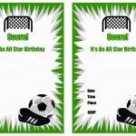 Free Printable Soccer Birthday Party Invitations