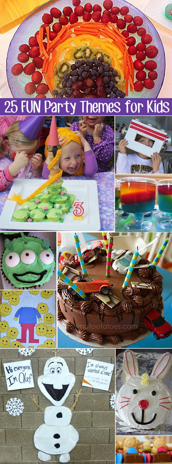 Fun Party Theme Ideas