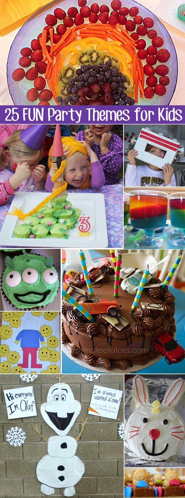 fun party theme ideas home party ideas