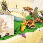 Hawaiian First Birthday Party