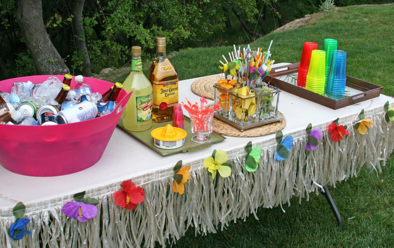 Hawaiian Themed Birthday Party For Adults