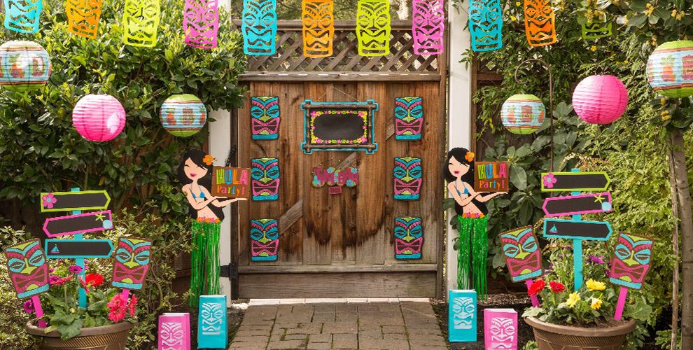 Hawaiian Themed Birthday Party Ideas