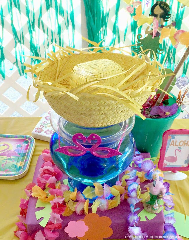 Hawaiian Themed Graduation Party