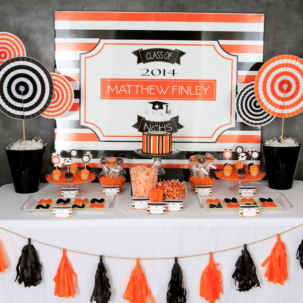 High School Graduation Party Theme