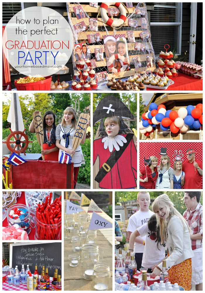 High School Graduation Party Themes Ideas