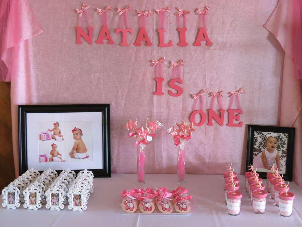Ideas for a Ballerina Birthday Party