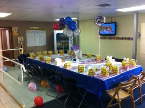 Indoor Soccer Birthday Party