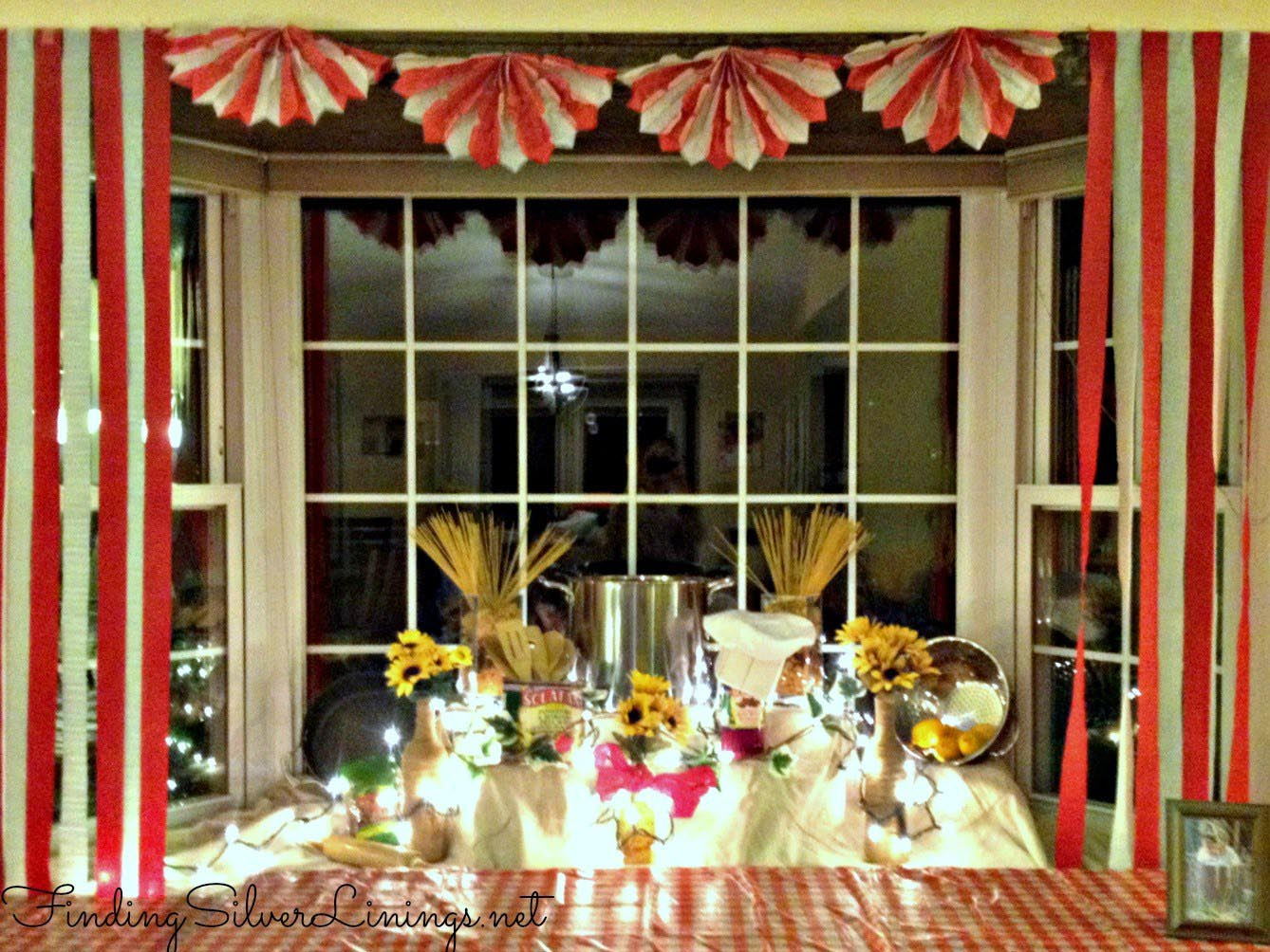 Dinner Theme Party Ideas Part - 18: Italian Themed Dinner Party Decorations