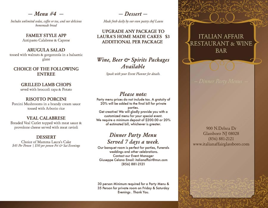 Dinner Party Themes And Menus Part - 24: Italian Themed Dinner Party Menu