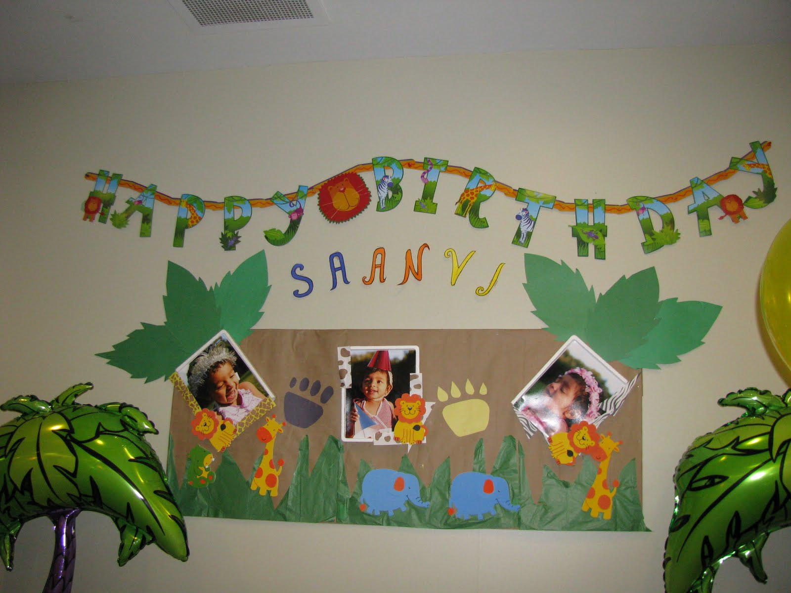 Jungle Book Themed Birthday Party