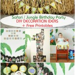 Jungle Themed 1st Birthday Party Ideas