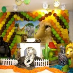 Jungle Themed Birthday Party