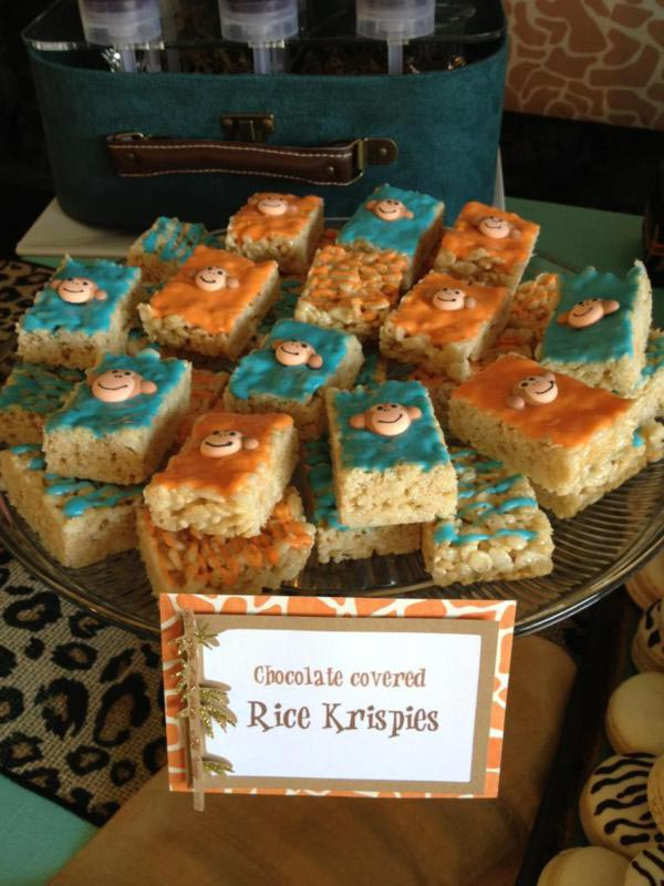 Jungle Themed Birthday Party Food Ideas