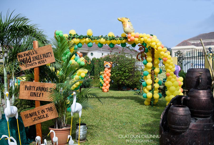 Jungle Decorations For Birthday Party Home Party Ideas