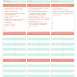 Kid Party Planning Checklist