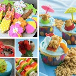 Little Girl Hawaiian Birthday Party