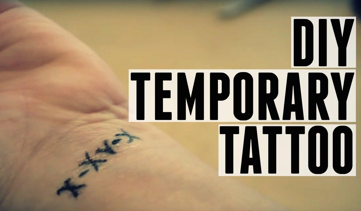 Make a Temporary Tattoo Last Longer