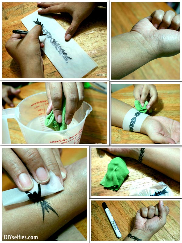 Make Own Temporary Tattoo