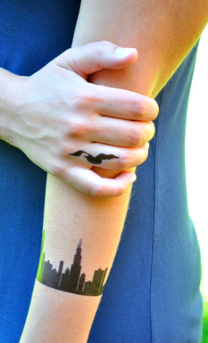 Make Temporary Tattoos at Home