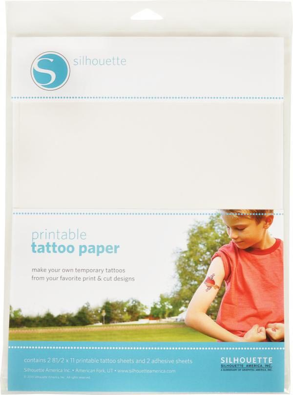 Make Your Own Temporary Tattoo Paper