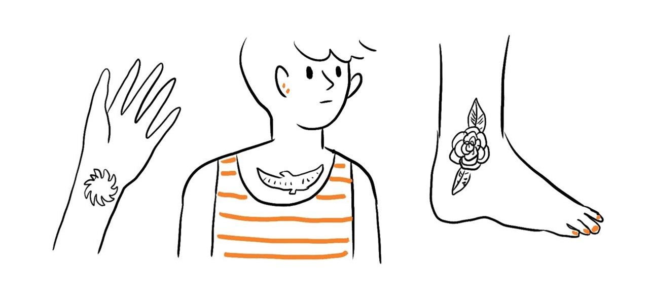 Make Your Own Temporary Tattoos