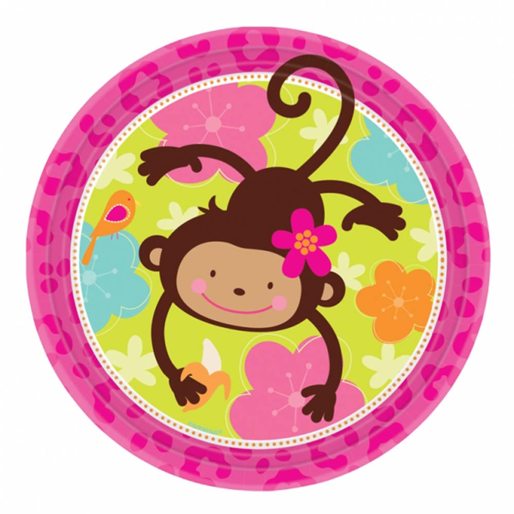 Monkey Love Birthday Party Supplies