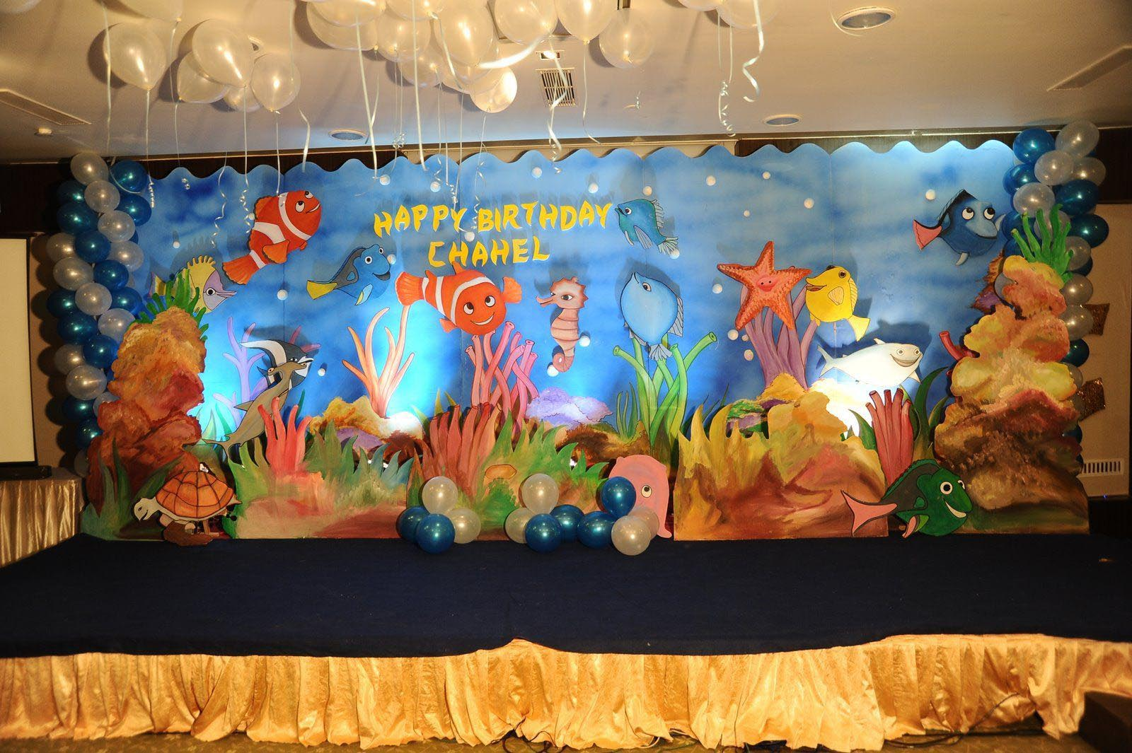 Nemo Birthday Party Decorations | Home Party Ideas