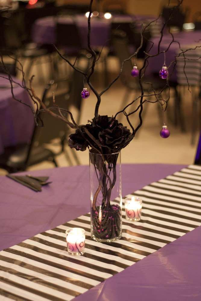 Nightmare Before Christmas Themed Birthday Party