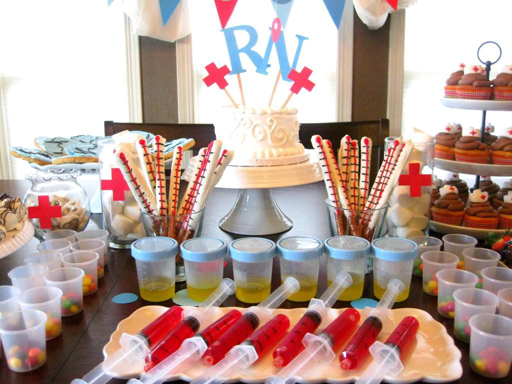 Nursing Themed Graduation Party