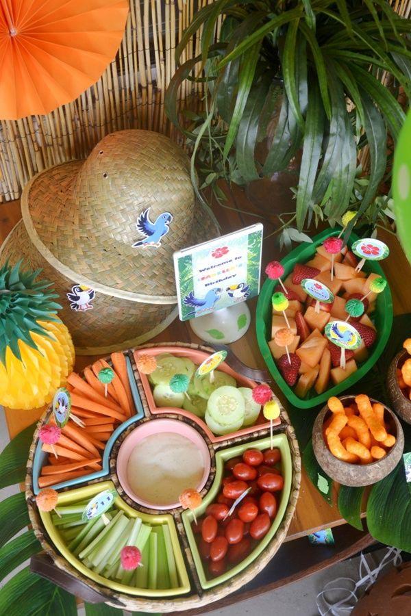 Parrot Jungle Birthday Parties