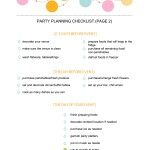 Planning a Bachelorette Party Checklist