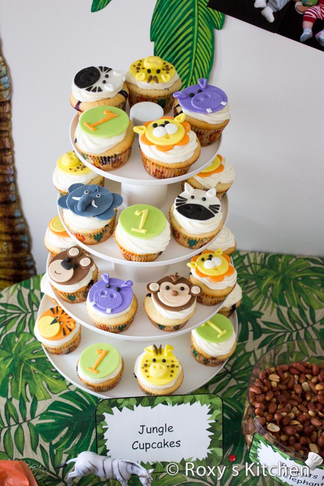 Safari Animal Birthday Party