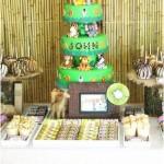 Safari Birthday Party Decorations